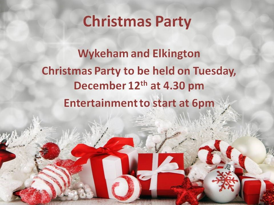 Christmas Parties for the Residents and Families at The Wolds Care Centre