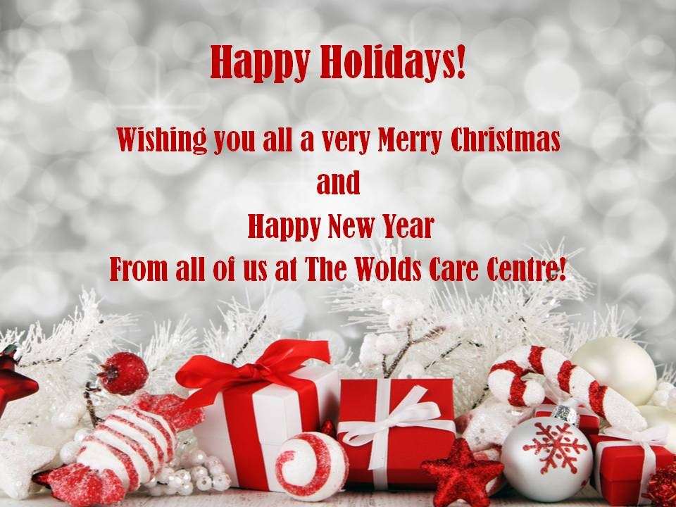 December News at The Wolds Care Centre