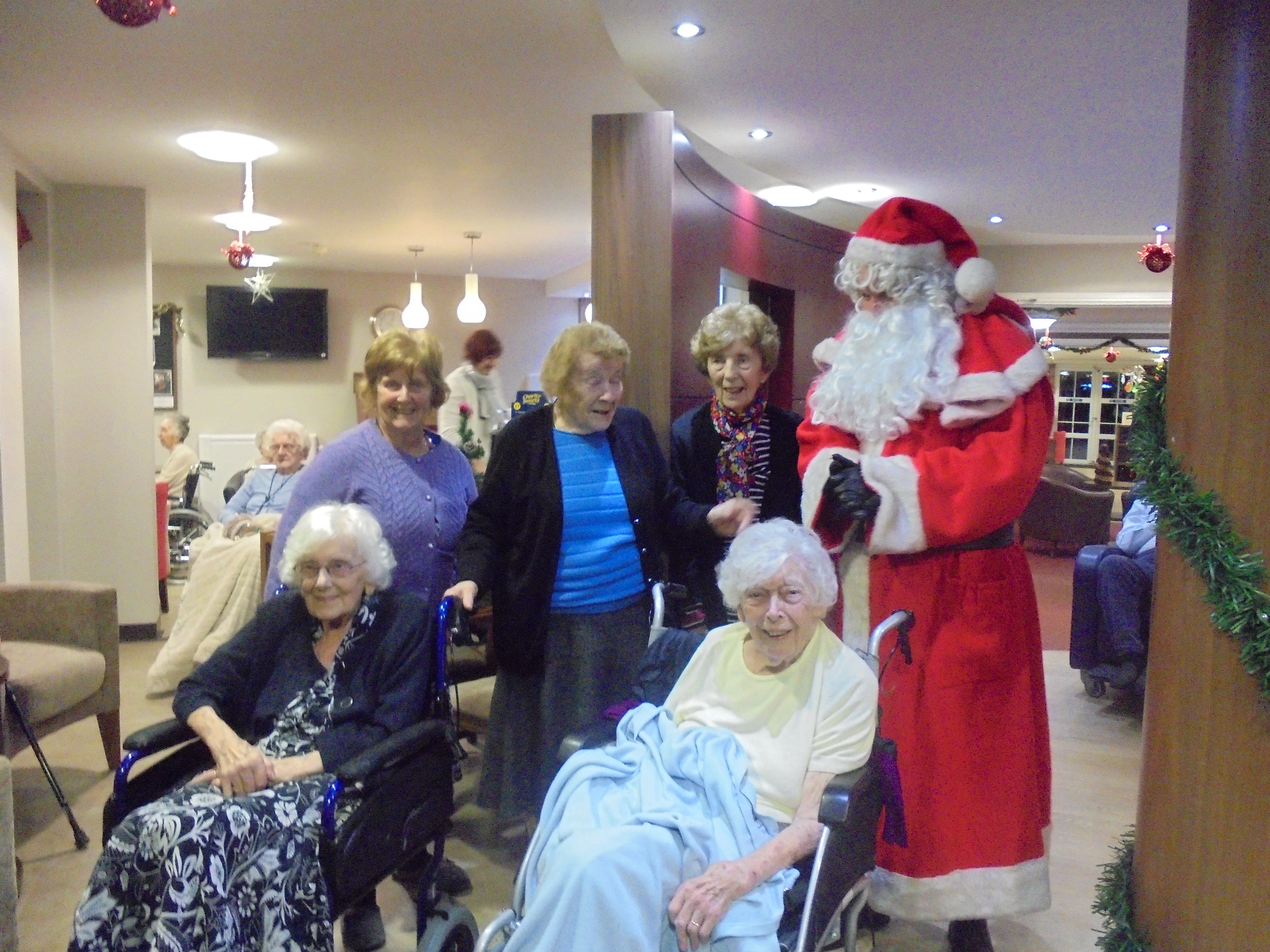 Christmas 2017 at The Wolds Care Centre