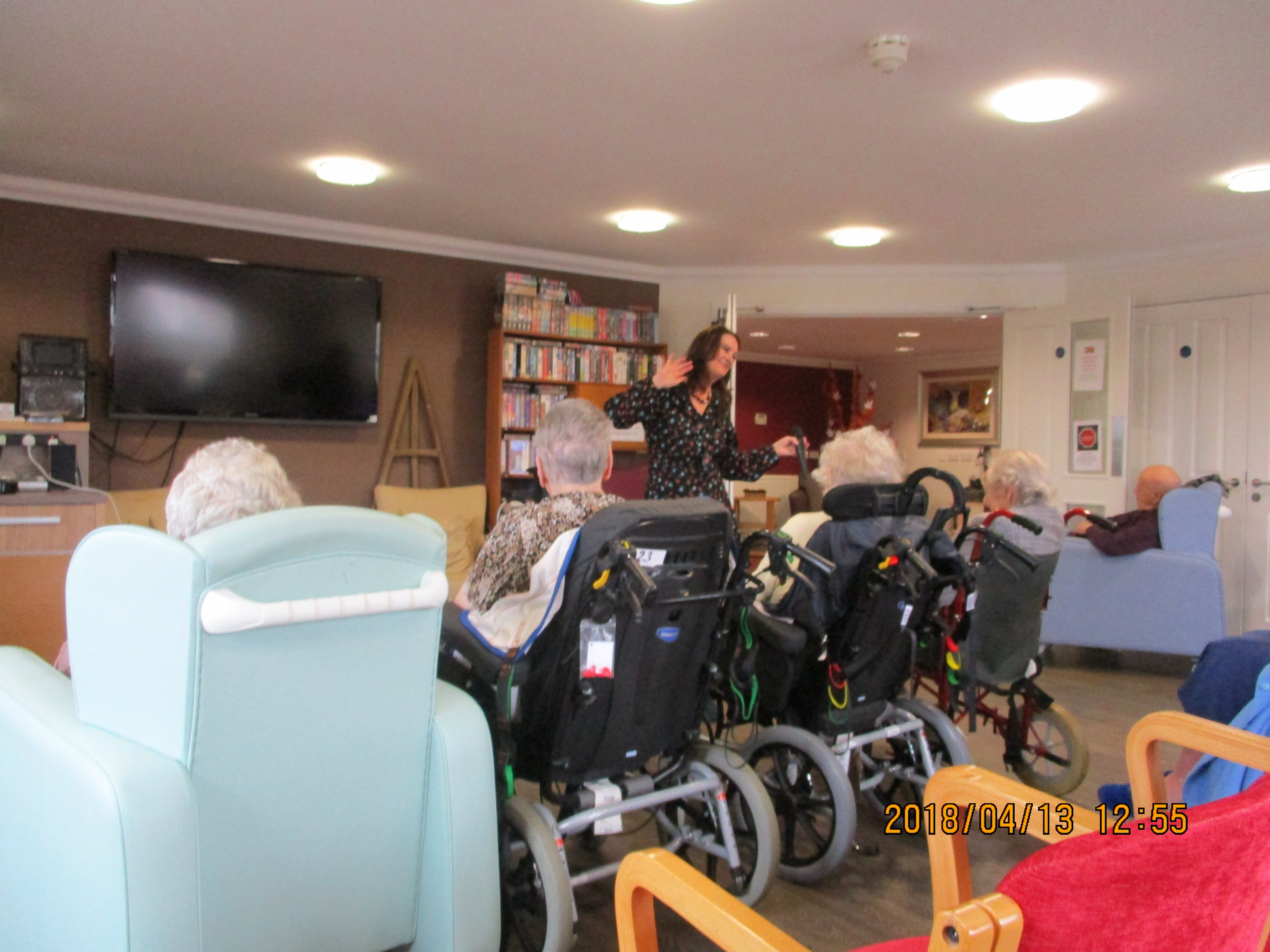 Musical Friday at The Wolds Care Centre
