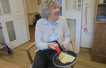 Pancake Day at The Wharf Care Centre