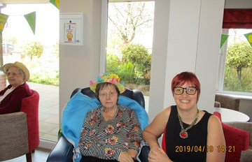 Easter and Bonnet Competition at The Wolds Care Centre